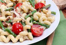 Salads, Pasta