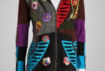 Ladies Jackets / Sewn ladies Jackets with interesting fabrics and designs with a special interest in Boho design.