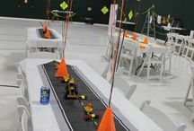 Childrens' party // construction