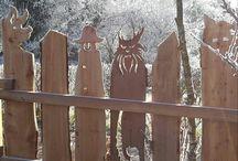 Decorative Fence Posts