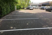 Parkplatzmarkierung & Parkplatzeinzeichnung