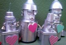 nápady pro děti - roboti, sci-fi