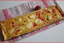 QUICHES ET PIZZAS