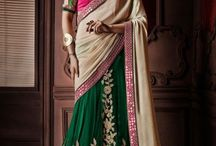 Partywear Lehenga Sarees Online / Make your party more special with the grand collections of latest partywear Lehenga sarees online, shop it with offers by fashionfemina at http://goo.gl/FwO4NE