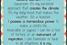 Teacher Quotes or Thoughts / by Diane Bonica