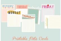 Printables / all kinds of printables