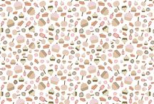 Pattern / pattern and illustration for decor home and space