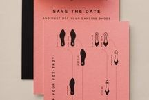 Save The Dates / A collection of amazing save the dates.