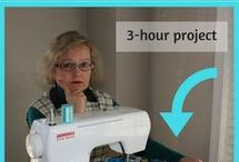 sewing faster