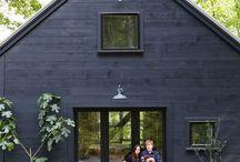 cabins/barns