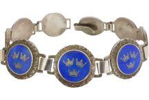 Vintage Guilloché Jewellery