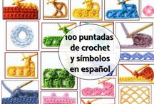 100 puntas a crochet