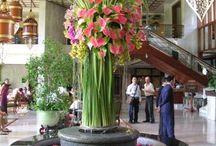 bloemstukken op locatie