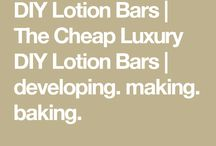 Scrubs and lotion bars
