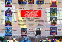 """Bounce Houses """"Do it yourself"""" party rentals"""