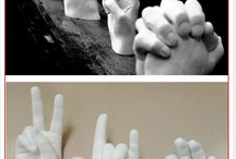 Moldes manos