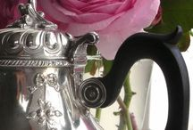 Old Silver and Flowers / by Caroline Evans
