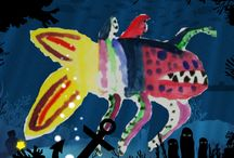 Animals of the Night / These are the animals children have created for the Animals of the Night gallery on our website!