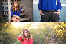 Senior Girl Poses / by Rachel Karnes {Photography}