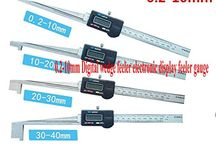 GOWE 0.2-10mm Digital wedge feeler electronic display feeler gauge