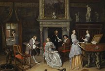 Let's Go Dutch / During the Dutch Golden Age, Dutch artists broke with conventions and took liberties to create images that reflected their republic's socially conservative, yet worldly, aspirations. The result was a vast body of work enormously original in approach and varied in subject matter. Here are some examples of the Dutch masters from our permanent collection (Pssst... They are FREE to see... Every day!). Enjoy!