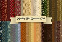 Monthly Fat Quarter Club! / Piecing the Past Quilts' Monthly Fat Quarter Club