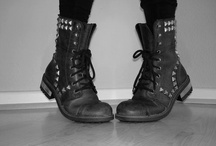 These boots are made for walking / Boots I love rock boots leather boots