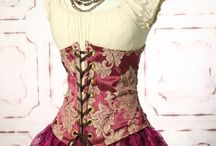(Antique) clothing & corsets 4 / Inspiration for clothes & dolls / by Marit Tamminga
