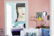Scandi boho interiors / Blog posts of La casa de Freja