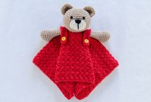 bear lovey with pants