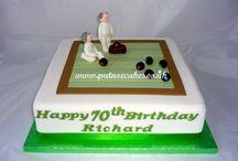 lawn bowls anniversary cake