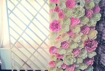 Wedding flowers/ aranjamente florale
