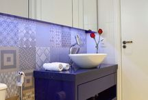 Decoração de banheiros / Veja banheiros simples, grandes, coloridos, brancos e etc