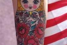 Matryoshka doll tattoos / Tattoos
