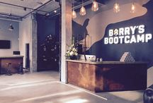 Barry's Boot camp Gym, Finsbury Square, London / Decorating by PA Schofield Ltd
