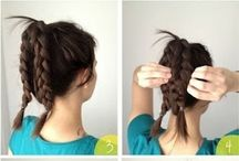 Hairstyles / How to braid hair, possible hairstyles etc.