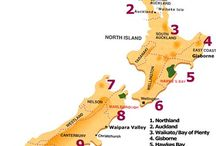NZ Wine Maps / by NZ Wine Directory (JB)