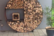 Holzlagerung