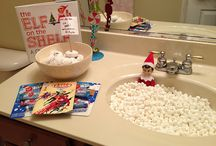 elf on shelf ideas / by Megan Ensor