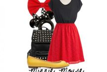 Minnie & Mickey Themed fashions