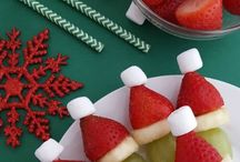Christmas party fruit
