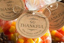 Thanksgiving Favors