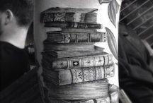 Bücher tattoos