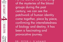 Dr. D'Adamo Quotes / A wise man once said...  Quotes from the BTD's founder, Dr. Peter D'Adamo.