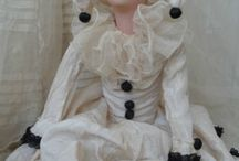 OLD FRENCH BOUDOIR DOLL