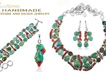 925 Sterling Silver And Gemstone Jewelry / We are one of the well-organized Silver Jewelry manufacturer based in Jaipur India. Our prime focus and strength has always been to provide good services and quality to match the expectations of our esteemed clients/customers. We use semi-automated, automated and handcrafted techniques to create nice silver jewelry studded with semi-precious gemstones and specialize in making custom jewelry as per design requirements and demand.