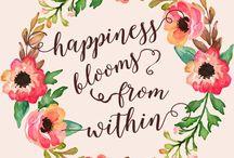 Qoutes flowers