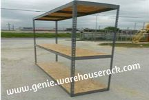 Rivet Shelving Houston / Take a chance to improve Your warehouse business! Rivet Shelving by Warehouse Rack in Houston is the best way to increase Your benefit!  #http://genie.warehouserack.com/RivetShelvingTypes.aspx