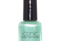 Merci Me- Iconic Luxury Nail Colour / Glittery Tiffany blue from the collection Parisian Socialite