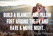 Together Tuesday / Fun date ideas cause dating is important, whether you've been together for 30 days or 30 years!